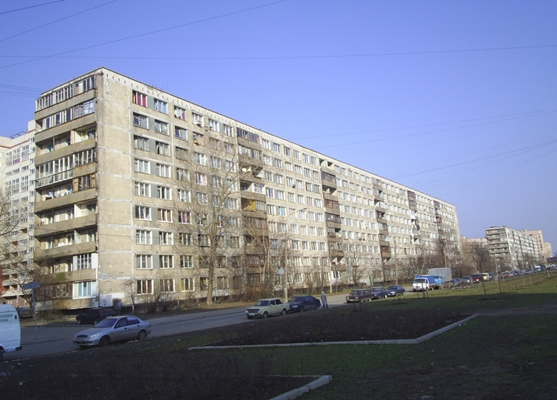 Дома в санкт-петербурге - история 1лг-602.